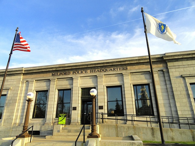 Free milford massachusetts police station building