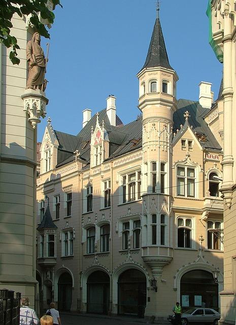 Free latvia riga building