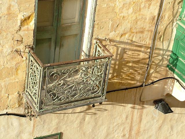 Free balcony old shadow play light shadow