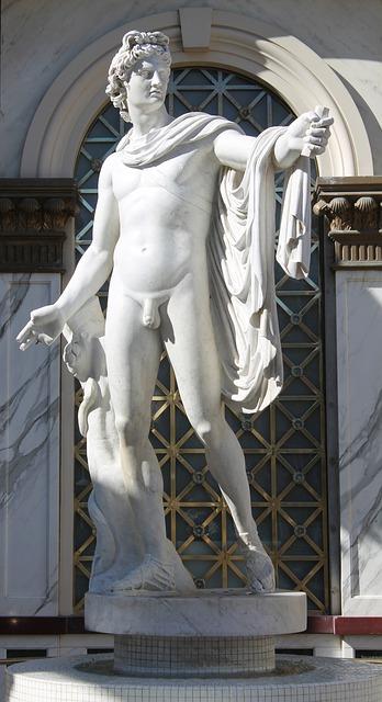 Free statue stone male roman nude