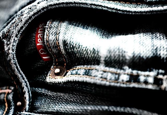 Free jeans pants denim logo clothing garment fabric
