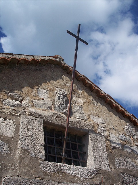 Free cross church critianesimo stones italy