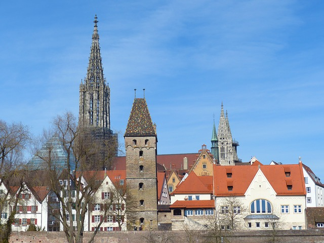 Free Photos: Ulm ulm cathedral city outlook city view münster | Hans Braxmeier