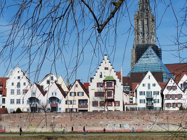 Free münster ulm cathedral tower steeple artwork