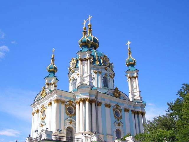 Free saint andrew's church church baroque capital kiew