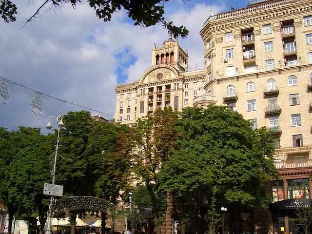 Free kiew ukraine sun summer trees