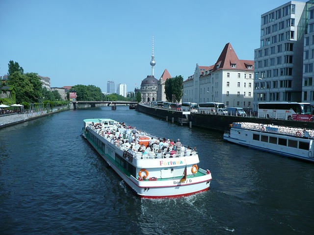 Free berlin germany water river boat