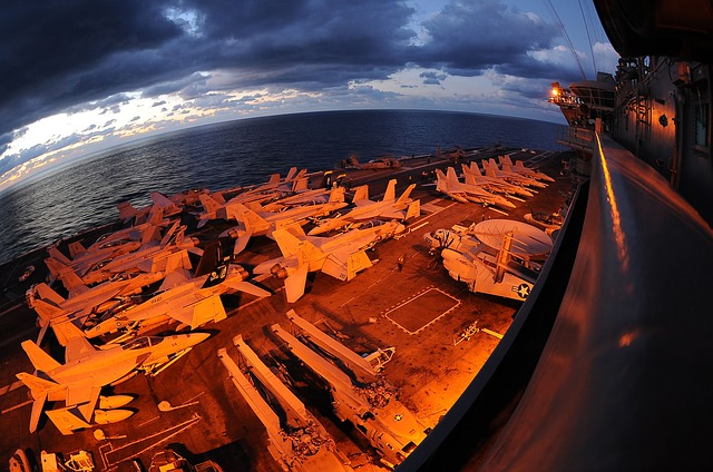 Free us navy ship aircraft carrier sea ocean water