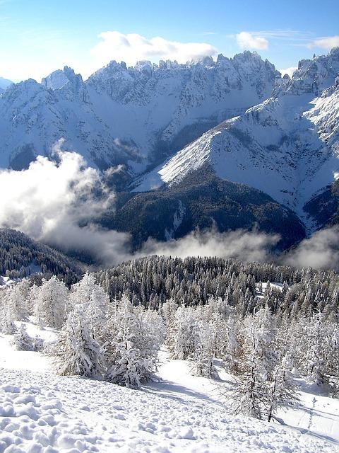 Free snow winter mountain