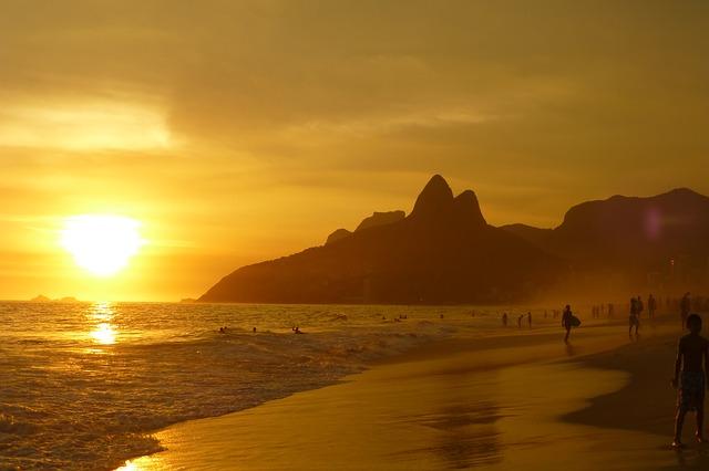Free Photos:               ipanema beach rio de janeiro summer sand | eacuna