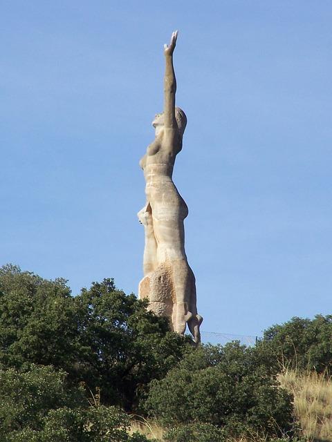 Free angeles de san rafael sculpture segovia spain