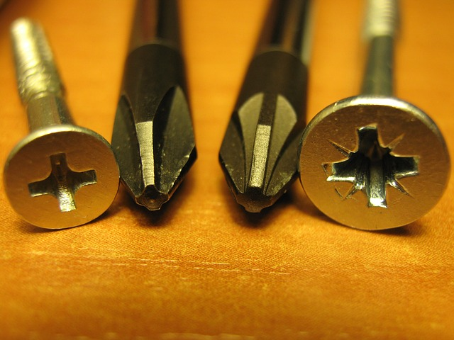 Free phillips screw screwdrivers close-up macro tools