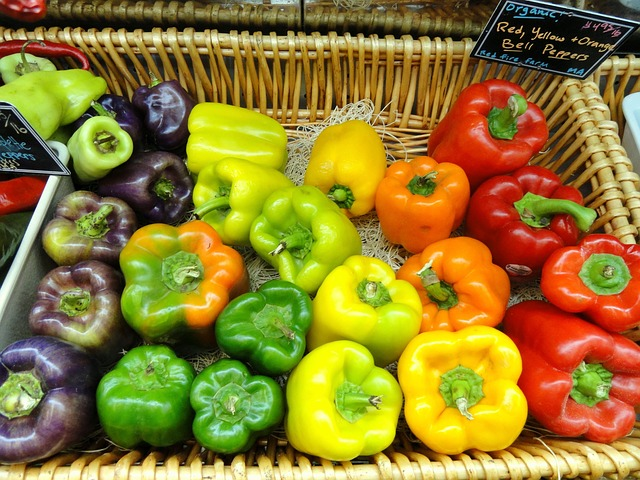 Free peppers food produce market shop grocery store
