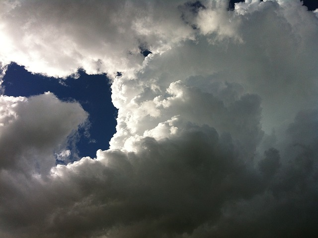 Free clouds sky storm spring skies summer white blue