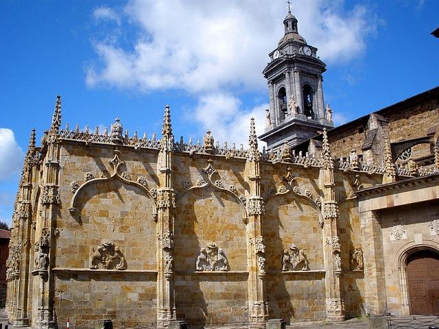 Free guipúzcoa spain building facade church palace sky