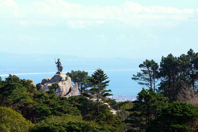 Free good view statue sculpture nature sky forest sea