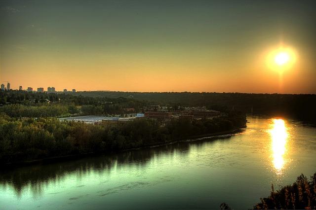 Free edmonton canada saskatchewan river water