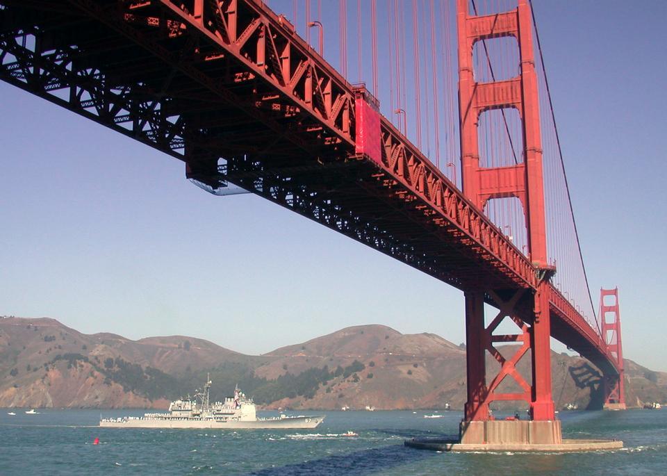 Free USS Shiloh arrives in San Francisco