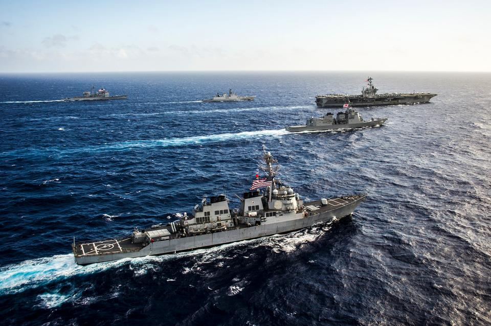 Free The guided-missile destroyer USS Stethem