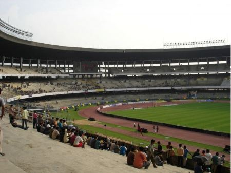 Free Salt Lake Stadium in Kolkata India