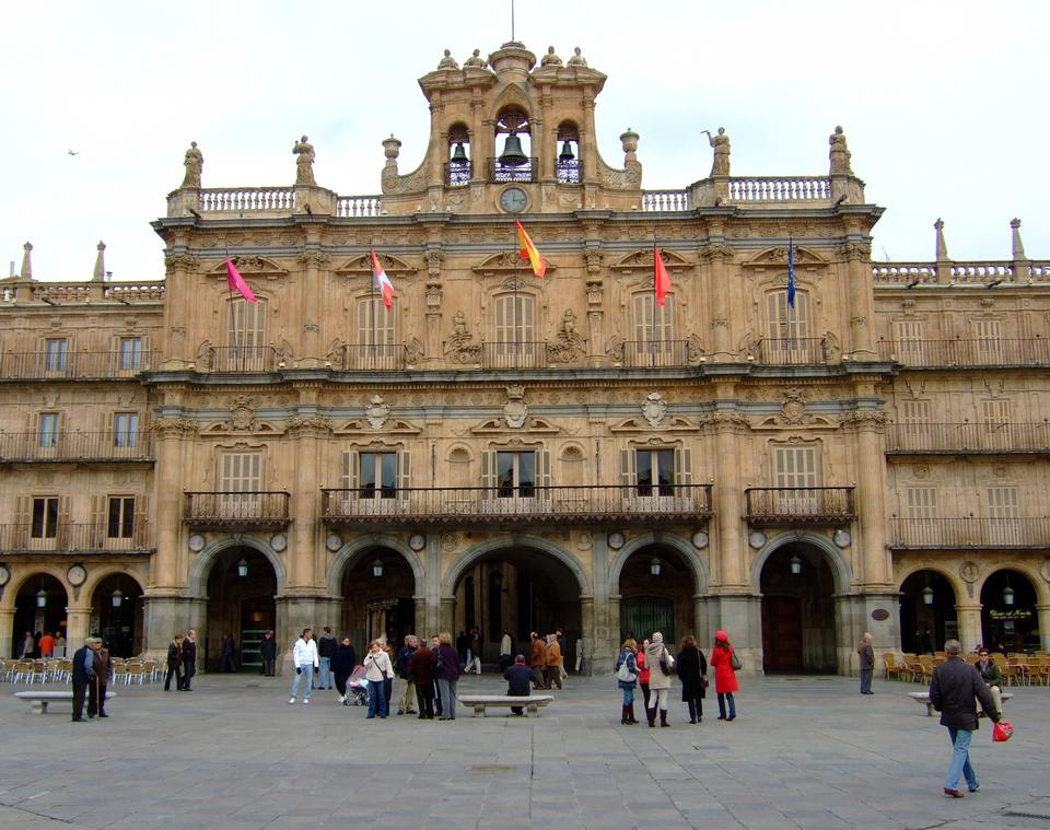 Free Plaza Mayor of Salamanca, Spain