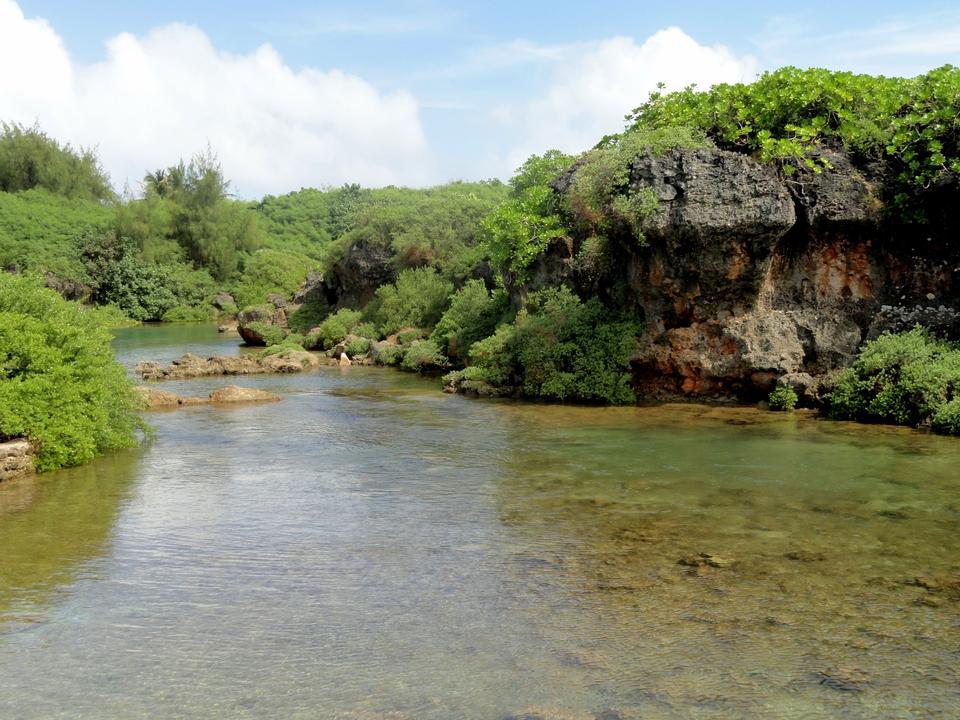 Free Inarahan natural pool Guam