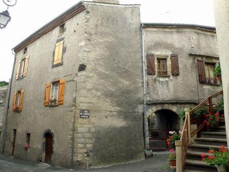 Free street in Saint-Saturnin, Puy de Dome, France