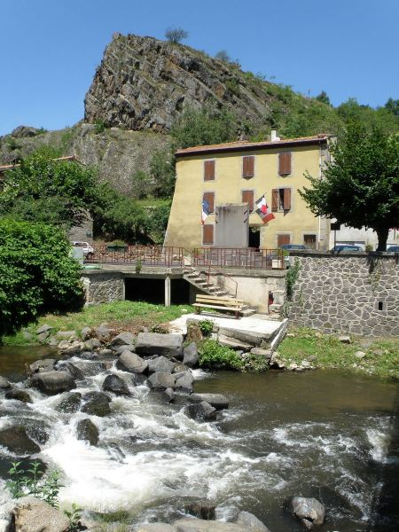 Free City of Saint-Flour, France