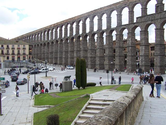 Free segovia aqueduct azoguejo monument civil works