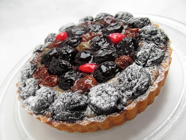 Free               cake fruit cherry sweet tart cherries dessert