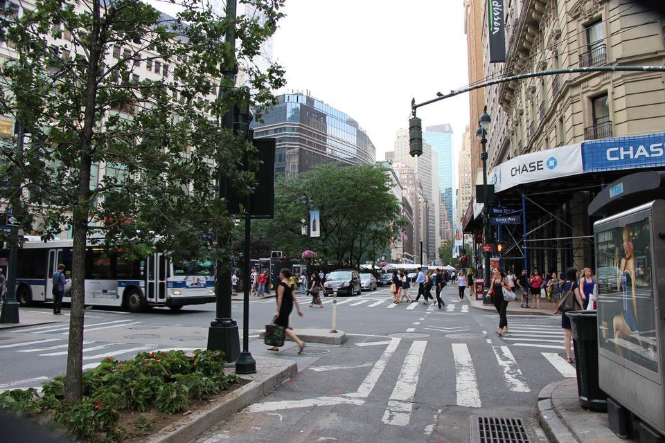 Free Korea way corner, New York