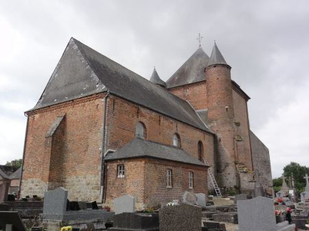 Free France, the historical church