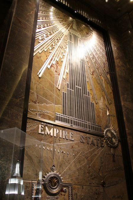 Free The Empire State Building entrance hall circa