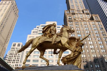 Free General Sherman Statue at Central Park's Grand Army Plaza