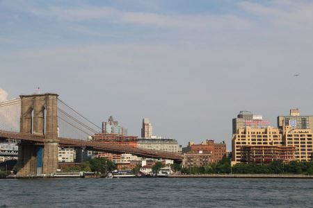 Free Brooklyn Bridge and the Lower Manhattan