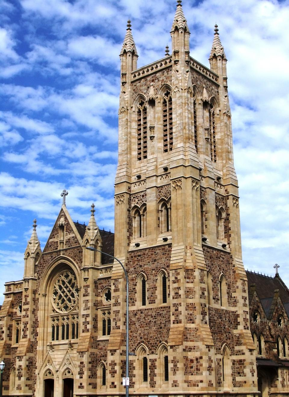 Free Roman Catholic Cathedral of Saint Francis Xavier in Adelaide