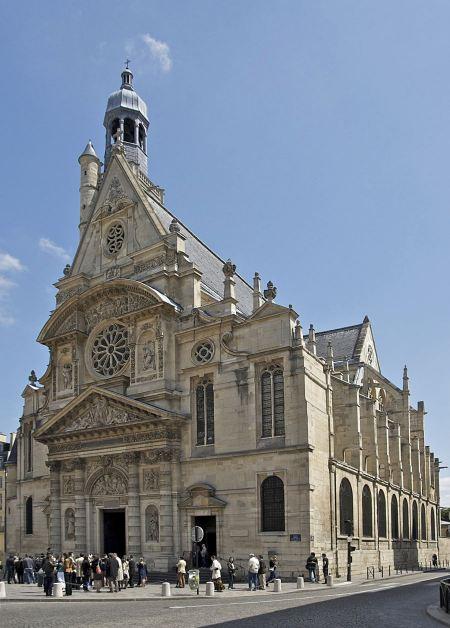 Free Church Saint Etienne du Mont, Paris, France