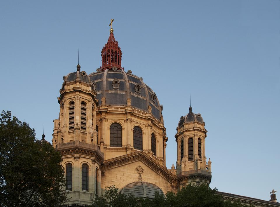 Free Church of St. Augustine in Paris - France