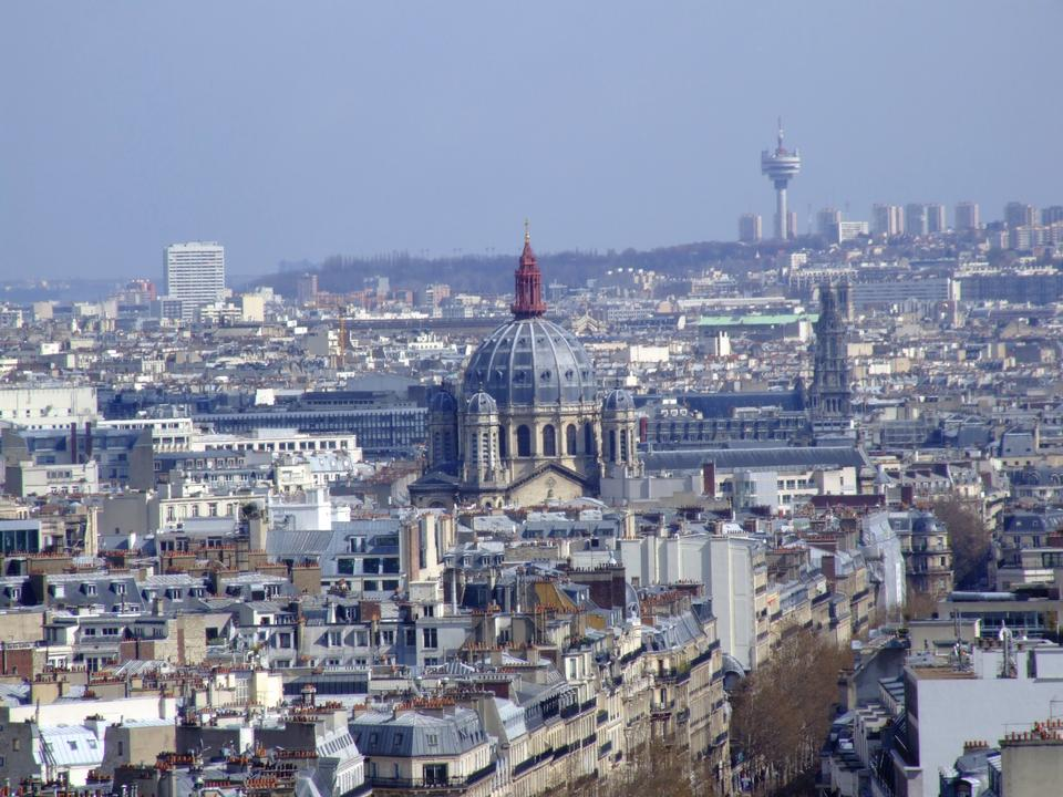 Free View on Saint - Augustin Church in Paris