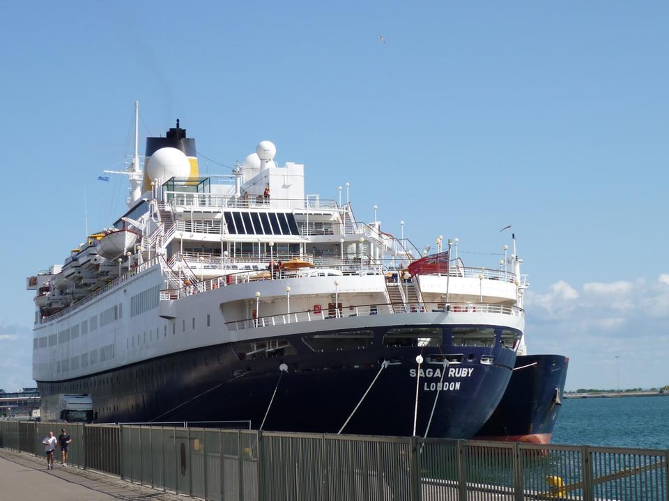 Free Photos: Saga Ruby cruise ship | eurosnap