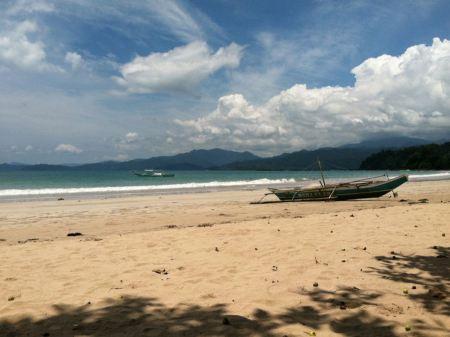 Free Sabang Beach in Palawan, Philippines