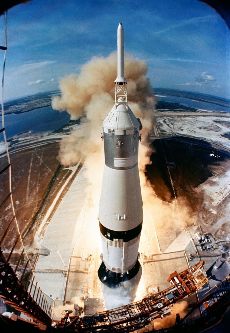 Free Launch of Apollo 11