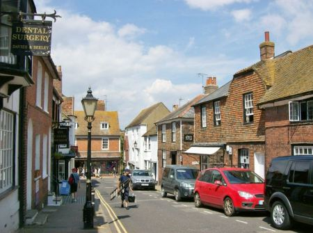 Free Beautiful East Street, Rye East Sussex, England
