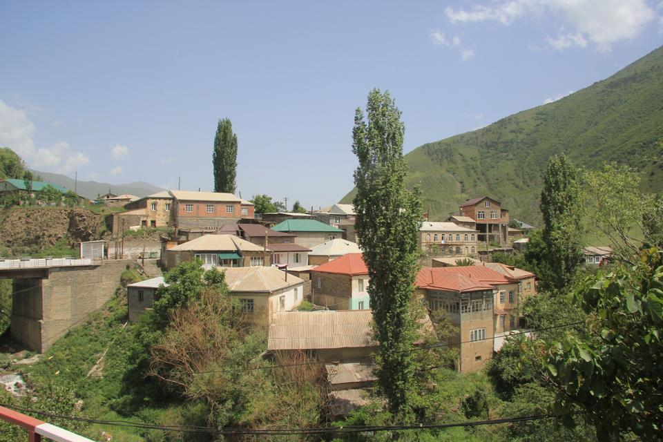 Free A historic quarter in a mountainous village Rutul