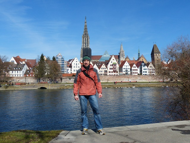Free ulm ulm cathedral city outlook city view münster