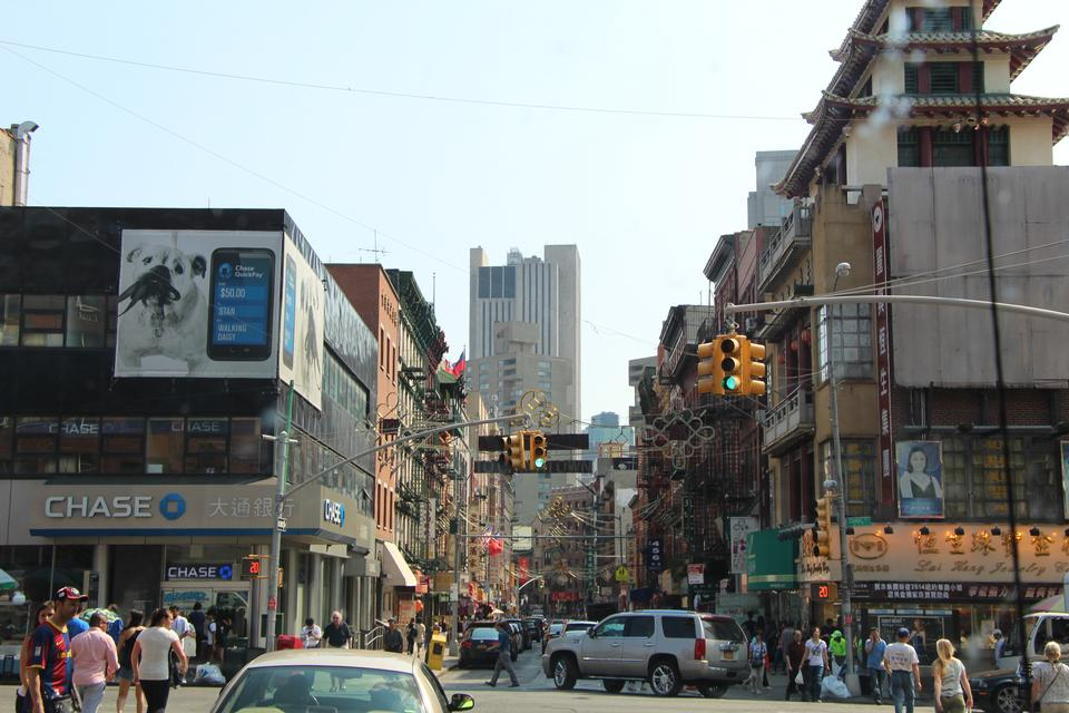 Free Street View china town by dumbo bridge