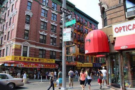 Free The street of Soho near Chinatown