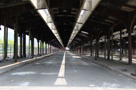 Free The Abandoned Rail Station at Liberty State Park