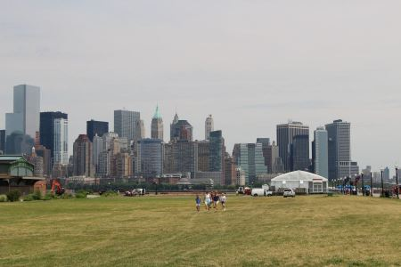 Free Manhattan, New York from statue of liberty state park