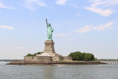 Free Front view of Statue of Liberty